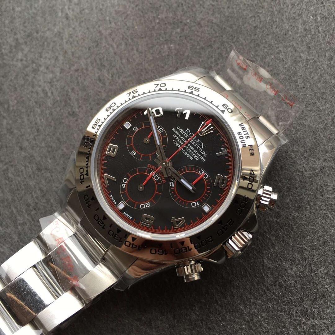Replica Rolex 116509 78599 Black Dial