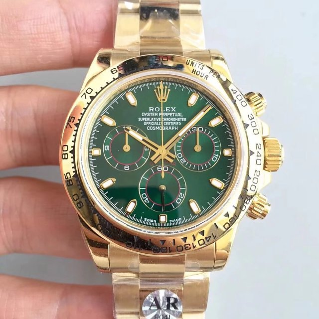 Rolex Daytona Replica Review Rose Gold Yellow Gold Blue Dial